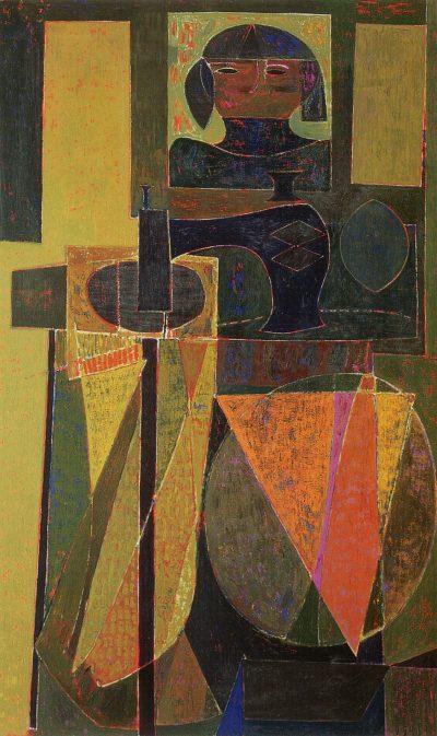 Miyoko Ito colorful abstract painting