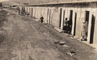 Image of Tanforan Japanese American internment camp